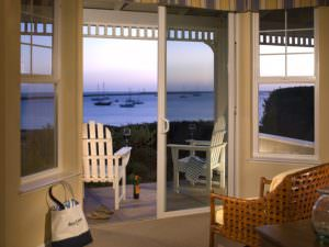 Ocean view from guest rooms