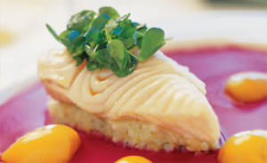 fish cake at Passionfish