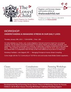 TLC Workshop Stress Management