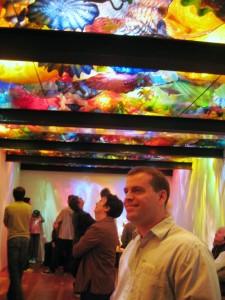 Aquarium ceiling