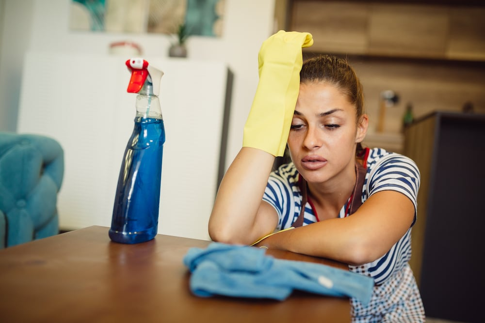 If you don't like cleaning, contact Complete Clean forsupport