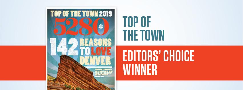 5280 Magazine's Best Massage for 2019!