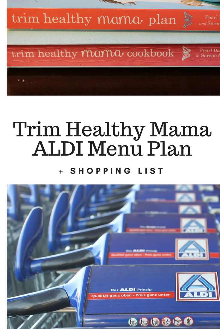 Trim Healthy Mama ALDI Menu Plan