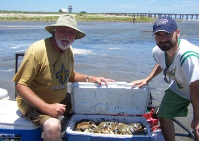 Cooler full of Crabs... Who's got the beer?