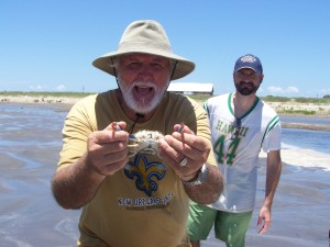 Craig Leonard Sr. is a little crabby at the moment