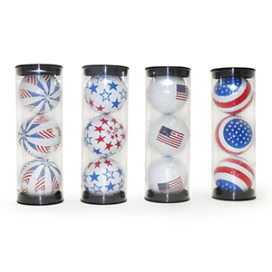 Novelty Golf Balls with Flags