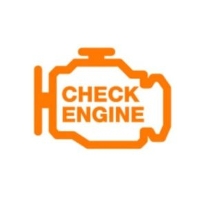 The Check Engine Light Turns On