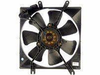 Single Engine Cooling Fan
