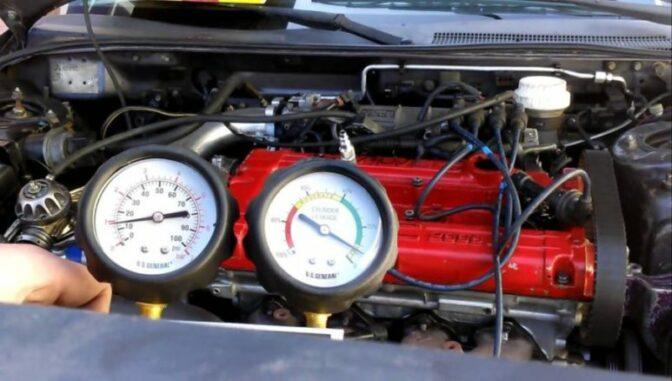 Cylinder Leak Down Test To Find Mechanical Engine Misfires