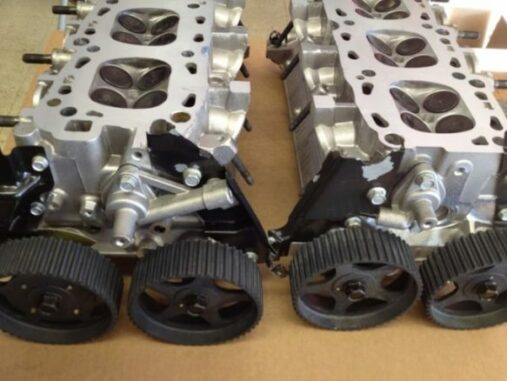 Cylinder Heads - Usually Called The Top End Of The Engine