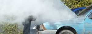 Smoke Coming From The Engine
