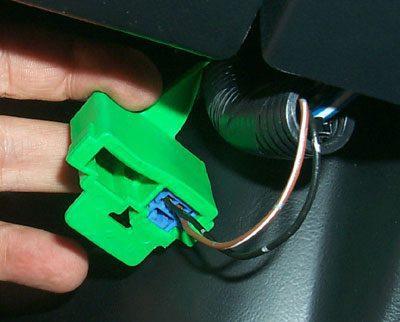 Locate The Factory Diagnostic Plug Next To The (ECU)