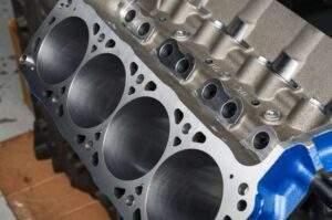Cleaned Engine Block