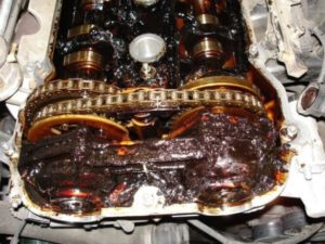 Engine Sludge In 4.7 Chrysler Engine