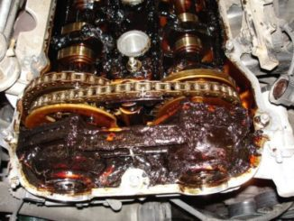 Engine Oil Sludge - Is Caused By Your Engine Oil Breaking Down