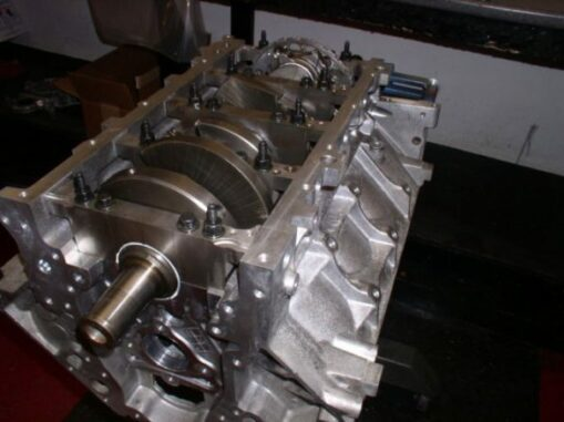Engine Blocks - Contain All Of The Major Components