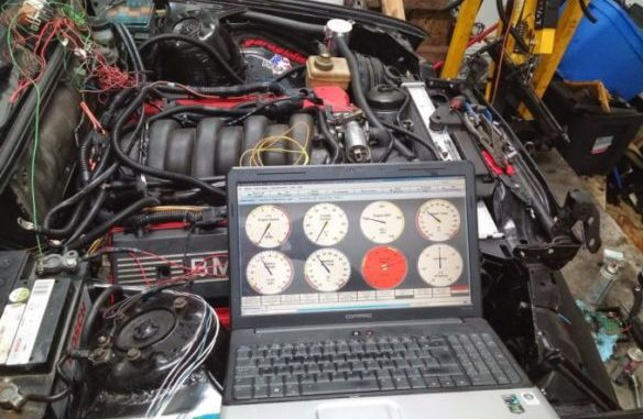 Engine Power Balance Test - Total Power Output Of The Engine