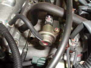 Fuel Pressure Regulator Hose Leaking