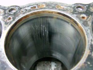 Damaged Cylinder Bore