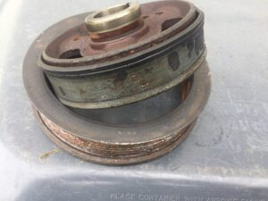 Rubber Isolation Ring Deteriorates