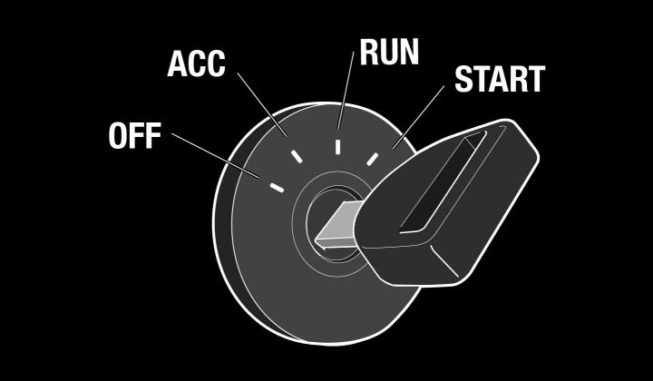 Ignition Switch Position Settings Image