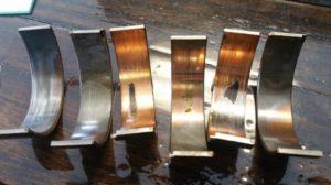 Worn Main Bearings