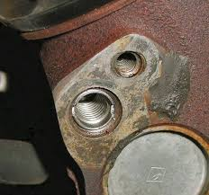 Plugged Emission Hole In Cylinder Head