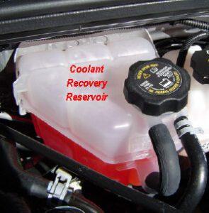 Radiator Cap Now On Recovery Tank