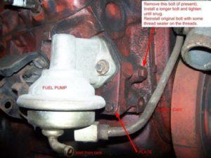 Common GM Mechanical Fuel Pumps