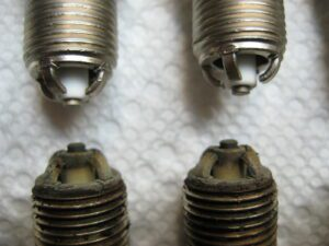 Spark Plug Health Comparison Old And New