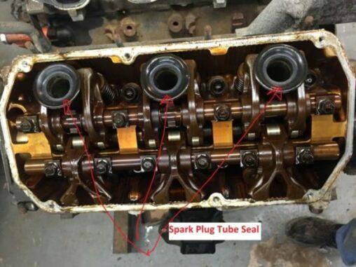 Spark Plug Tube Seals On Cylinder Head