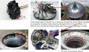 Turbocharger Damage Images
