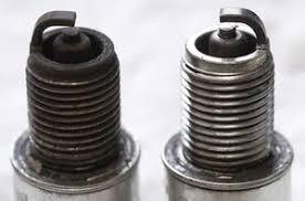 Washed Clean Spark Plug