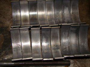 Engine Bearing Replacement Worn Engine Bearings
