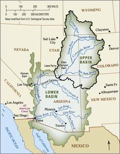 The Colorado River Basin (USGC)