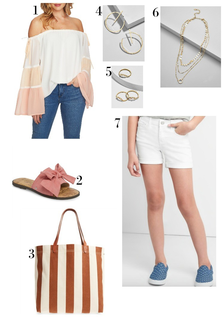 Pink and White Casual Summer Outfit, Casual Summer Style, Houston Blogger, Style Blogger, Petite Blogger