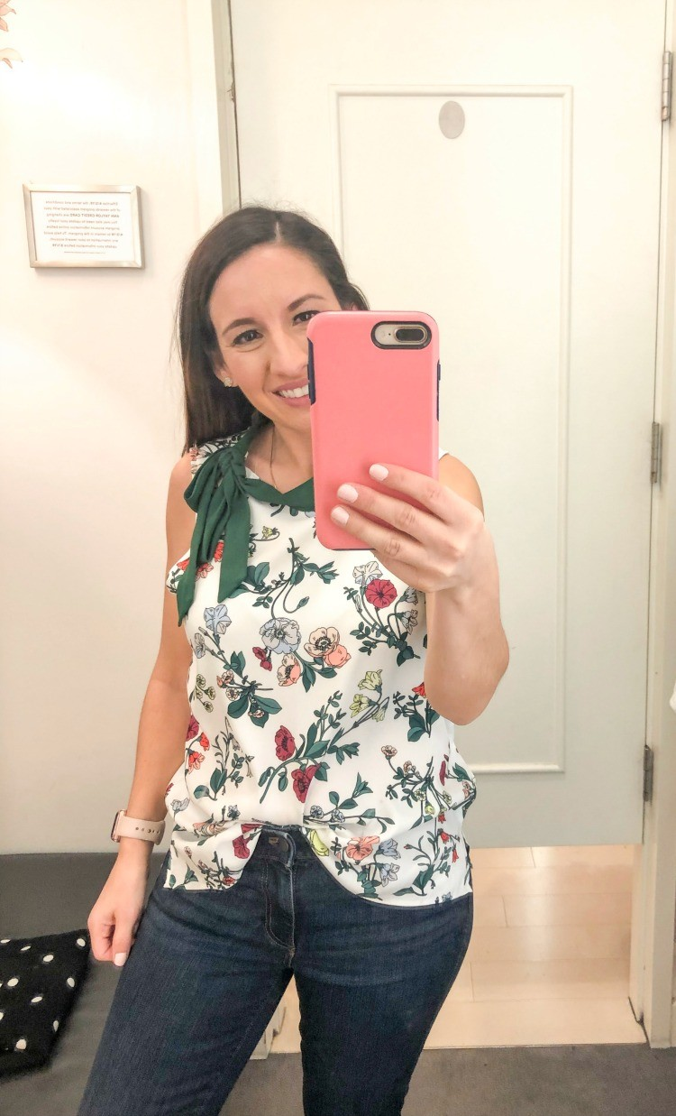 Ann Taylor Spring Try- On Session