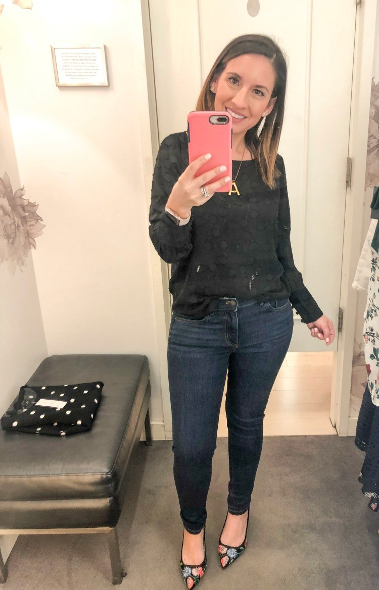 Ann Taylor Spring Try On Session