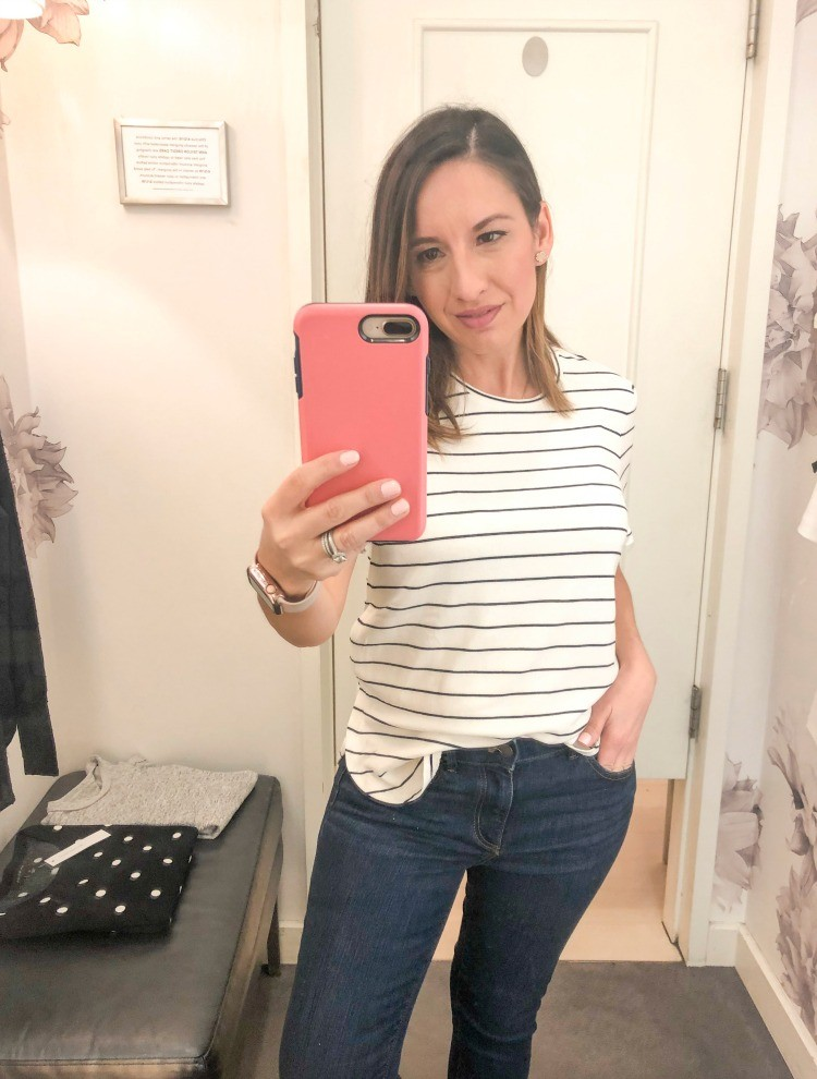 Spring Ann Taylor Try-on