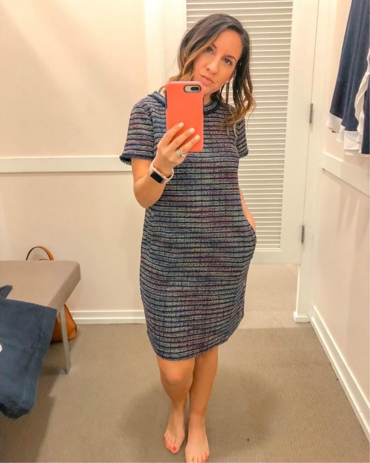 Loft Try On Session Cute WorkWear Dress