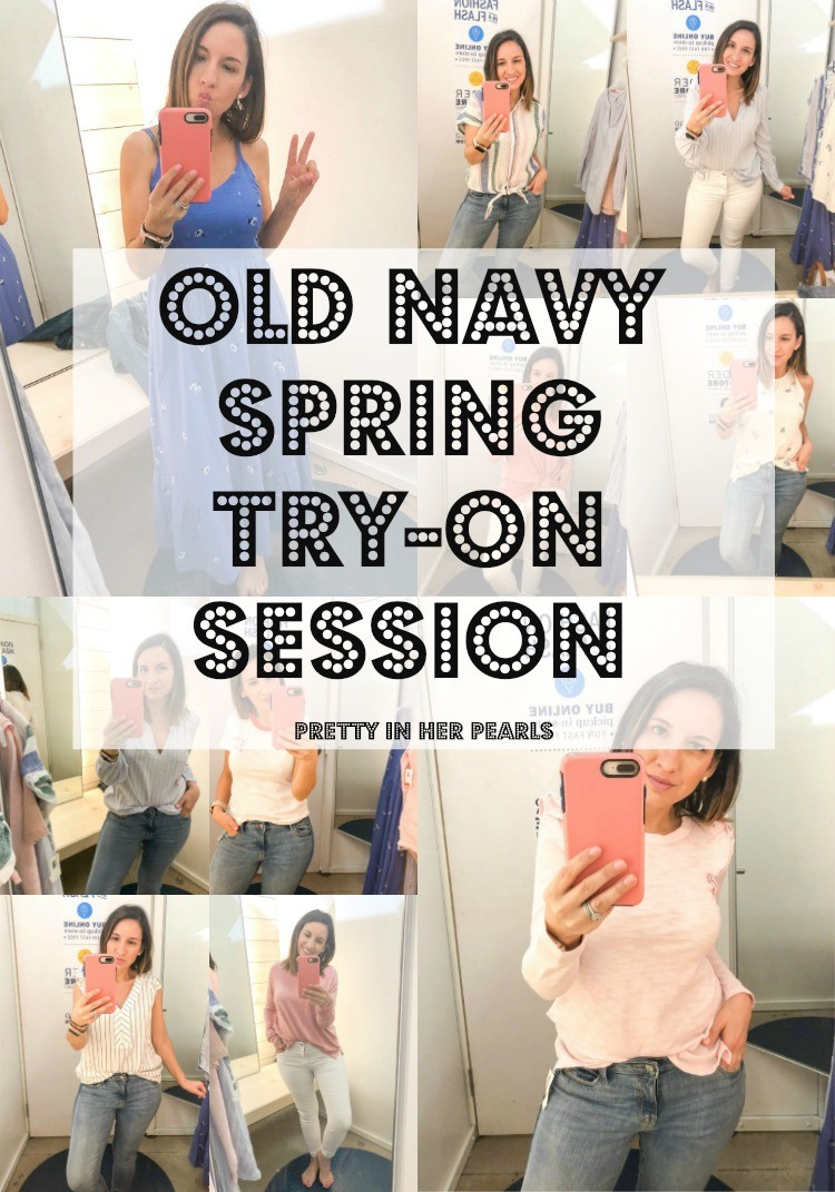 Old Navy Spring Try On Session With Pretty In Her Pearls