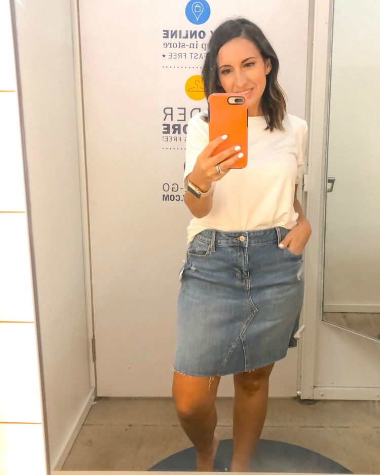 The One Jean Skirt You Need