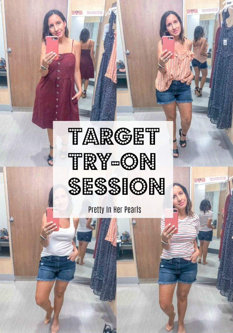 Summer Target Try-On Session