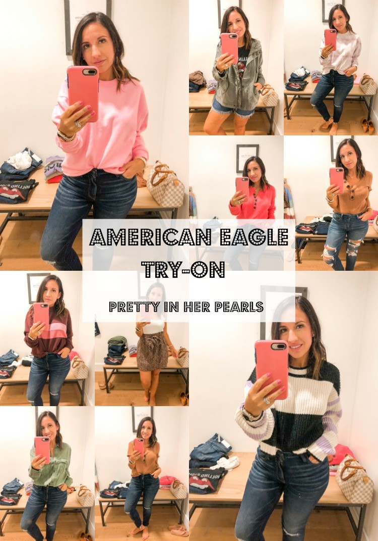 American Eagle Try-On