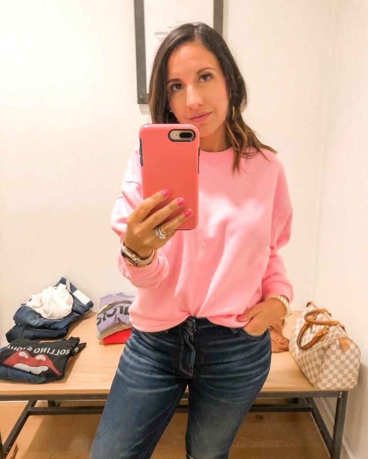 Pink Super Soft Sweatshirt