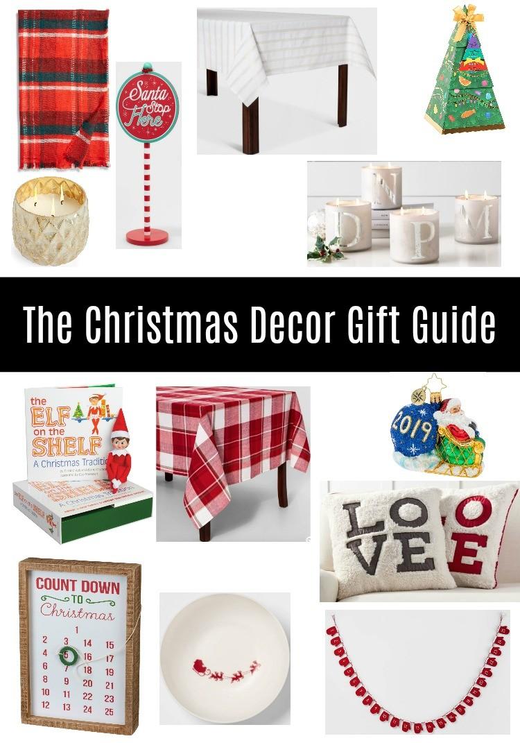The Christmas Decor Gift Guide