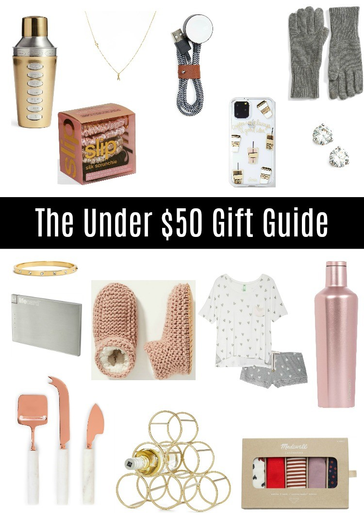 The Under $50 Gift Guide For Her