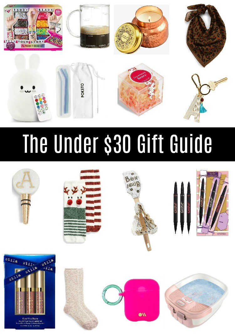 Under $30 Gift Guide For Her