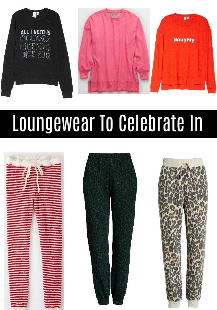 Loungewear to Celebrate in