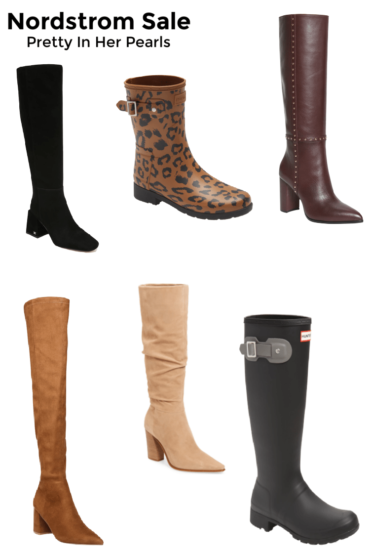 Nordstrom Anniversary Sale Boots by Pretty In Her Pearls